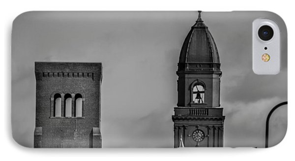 Eleven Twenty Says The Clock In The Tower Phone Case by Bob Orsillo