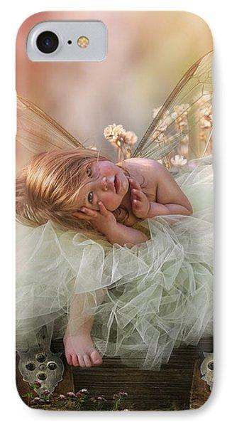 Elf iPhone 7 Case - Elf Baby by Cindy Grundsten