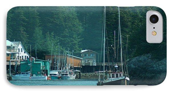 Elfin Cove Alaska IPhone Case by Harry Spitz