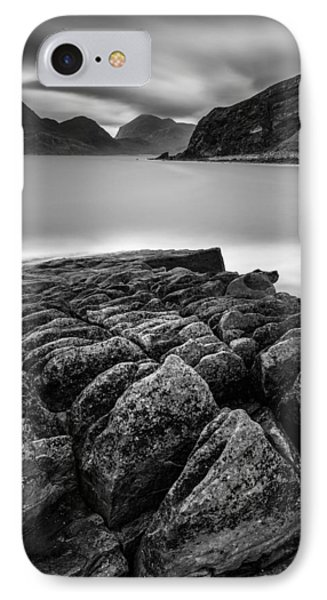 Elgol Rocks IPhone Case by Dave Bowman