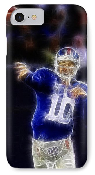 Eli Manning Phone Case by Paul Ward