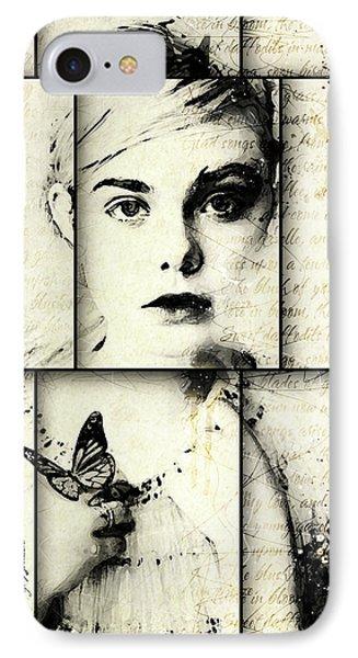 Eliannah Con Mariposa IPhone Case by Gary Bodnar