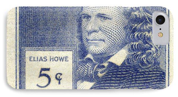 Elias Howe (1819-1867) Phone Case by Granger
