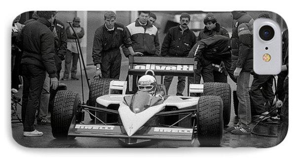 Elio De Angelis. 1986 IPhone Case