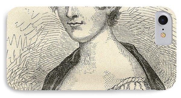 Elisabeth Charlotte Pauline De Meulan IPhone Case by Vintage Design Pics