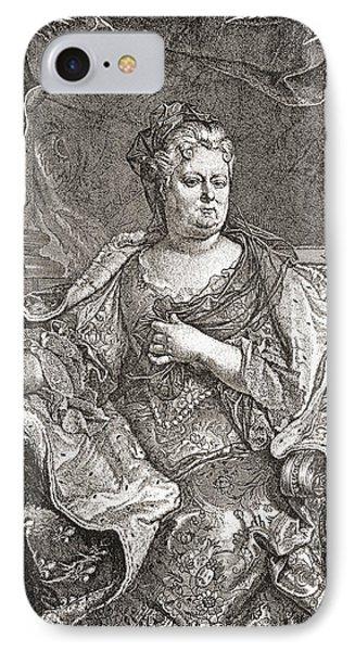 Elisabeth Charlotte Princess Palatine IPhone Case by Vintage Design Pics