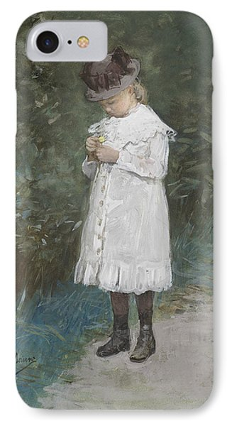 Elisabeth Mauve IPhone Case by Anton Mauve