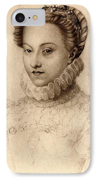 Elisabeth Of Austria, Queen Of France IPhone Case