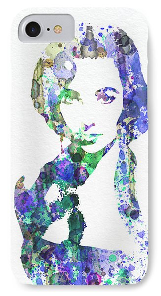 Elithabeth Taylor IPhone Case by Naxart Studio