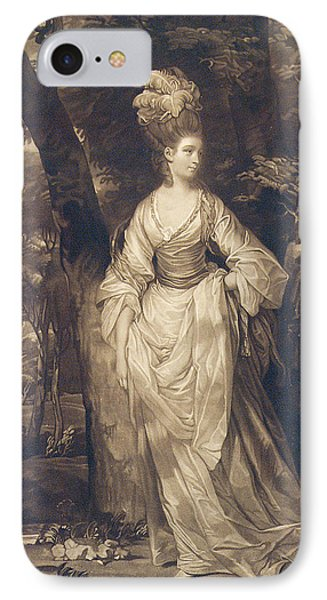 Elizabeth Duchess Of Hamilton Brandon And Argyll IPhone Case by John Finlayson