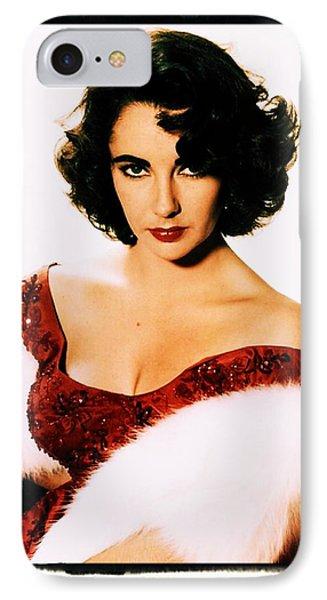 Elizabeth Taylor IPhone 7 Case by John Springfield