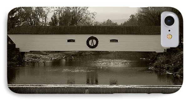 Elizabethton Covered Bridge Phone Case by Jeff Severson