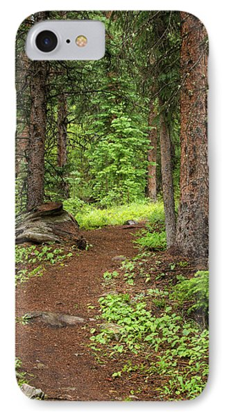 Elk Camp Trail IPhone Case by Adam Pender