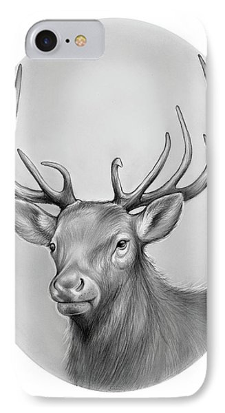 Elk IPhone Case by Greg Joens