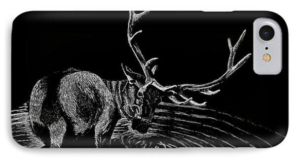 Elk IPhone Case by Lawrence Tripoli
