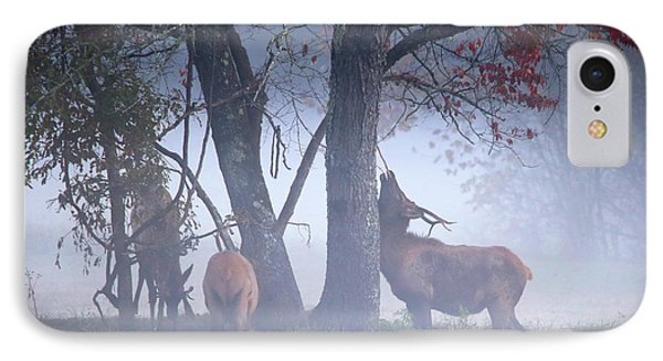 Elk Neck Scratch IPhone Case by Lamarre Labadie