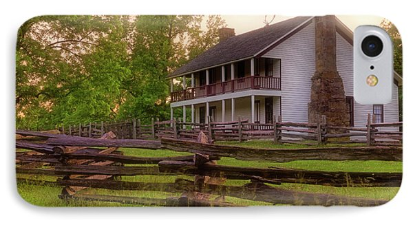 Elkhorn Tavern At Pea Ridge - Arkansas - Civil War IPhone Case by Jason Politte