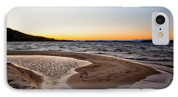 Ellacoya Beach IPhone Case by Robert Clifford