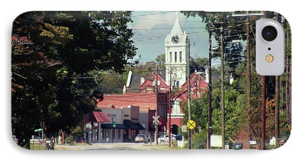 IPhone Case featuring the photograph Ellaville, Ga - 2 by Jerry Battle