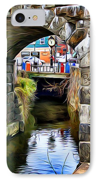 Ellicott City Bridge Arch Phone Case by Stephen Younts