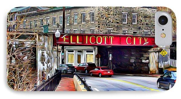 Ellicott City Phone Case by Stephen Younts