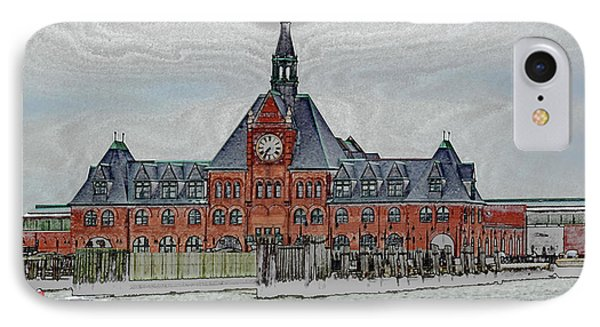 Ellis Island No. 49-1 IPhone Case by Sandy Taylor