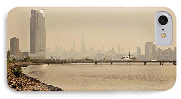 Ellis Island Pier IPhone Case