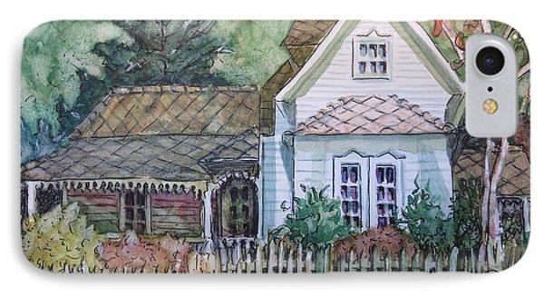 Elma's Home IPhone Case by Gretchen Allen