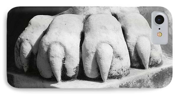 Elmwood Cemetery - Lions Paw IPhone Case