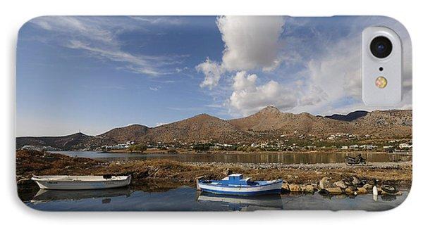 Elounda, Crete IPhone Case by Nichola Denny