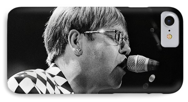 Elton John-0143 IPhone Case by Gary Gingrich Galleries
