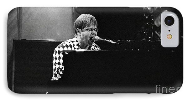 Elton John-0147 IPhone Case by Gary Gingrich Galleries