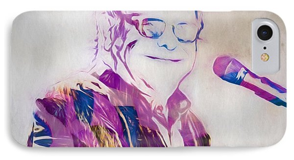 Elton John iPhone 7 Case - Elton John by Dan Sproul