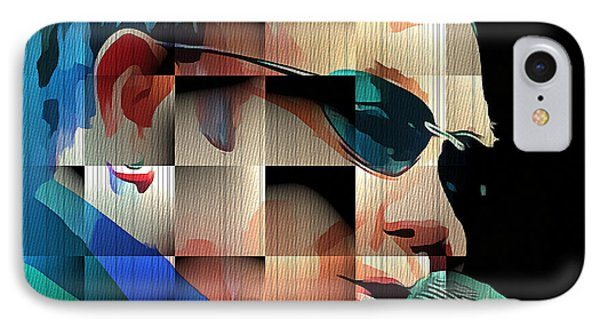 Elton John In Cubes 1 IPhone Case by Yury Malkov