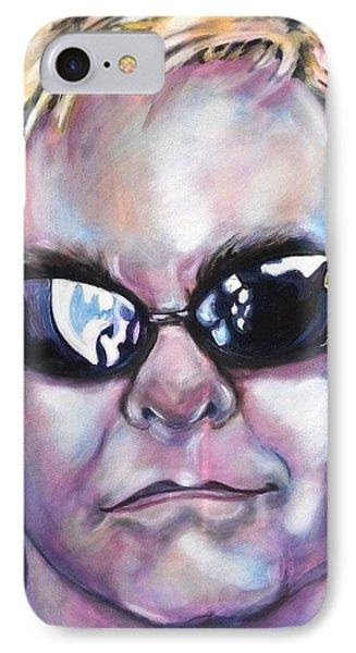 Elton John IPhone Case by Misty Smith
