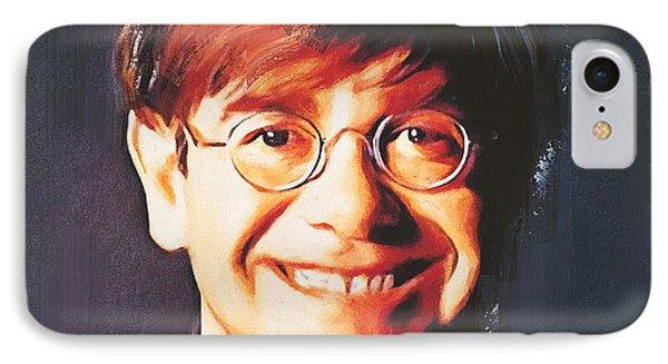 Elton John Young Portrait IPhone 7 Case by Yury Malkov