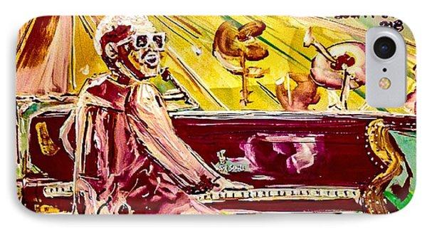 Elton IPhone Case by Paula Baker