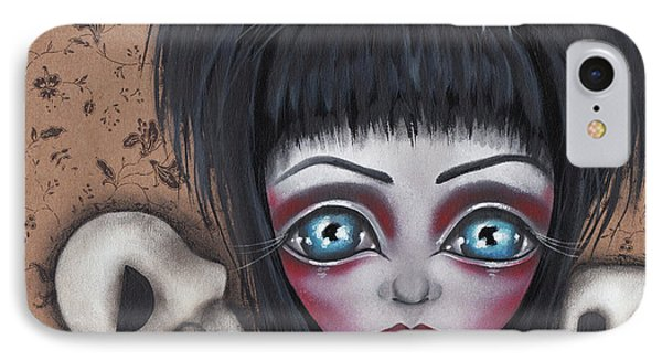 Elvira IPhone Case by Abril Andrade Griffith
