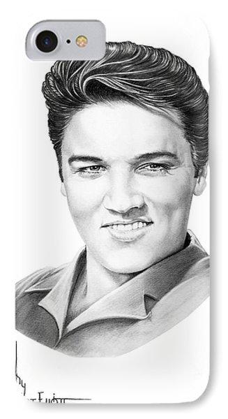 Elvis Aaron Presley Phone Case by Murphy Elliott