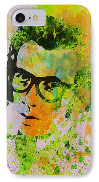 Elvis Costello Phone Case by Naxart Studio