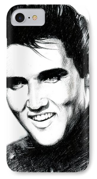 Elvis IPhone Case by Lin Petershagen