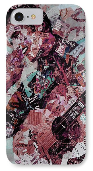 Elvis Presley Collage Art 01 IPhone Case by Gull G