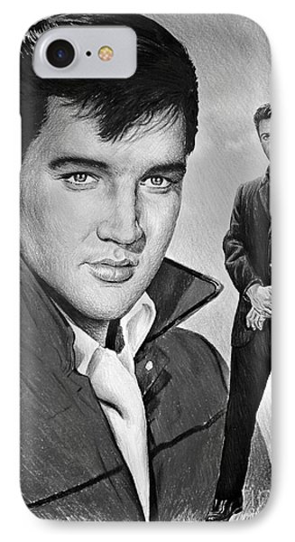 Elvis Roustabout IPhone Case by Andrew Read