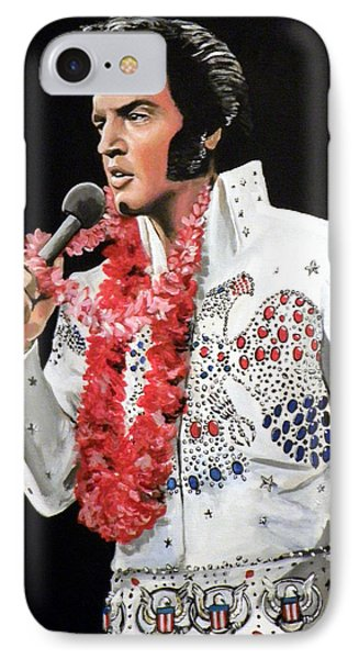 Elvis IPhone 7 Case by Tom Carlton