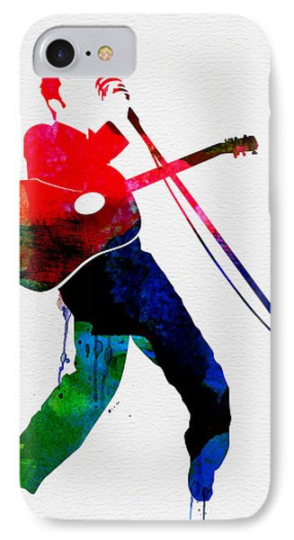 Elvis Watercolor IPhone Case by Naxart Studio