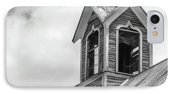 Ely Vermont Barn 1899 Barn Cupola IPhone Case by Edward Fielding