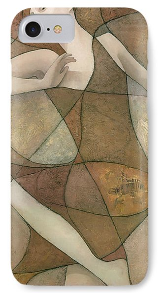 Abstract iPhone 7 Case - Elysium by Steve Mitchell