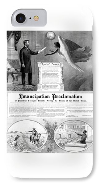 Emancipation Proclamation IPhone 7 Case by War Is Hell Store