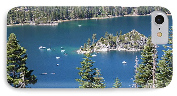 Emerald Bay Phone Case by Carol Groenen