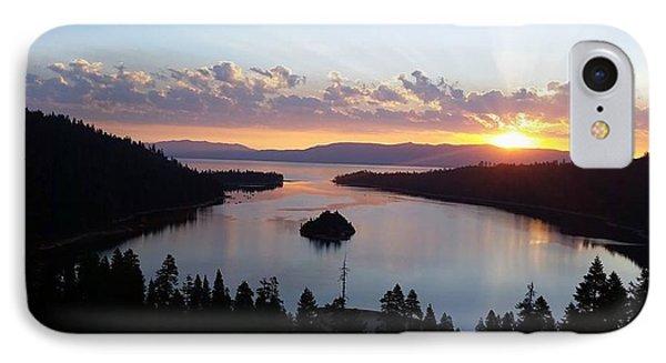 Emerald Bay Sunrise IPhone Case by Carol Duarte
